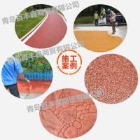 河南省景区道路改色就用百丰鑫路面彩色喷涂剂