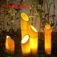 竹子造型灯,树桩发光灯,公园小品灯