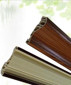 浙江丽水欧堡现货供应60饰线装饰线木塑线条框线