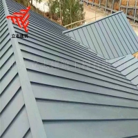 小镇金属屋面翻新 25-430铝镁锰合金板 0.9mm厚