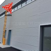 店面墙面装饰板 1.0mm厚度780宽度 横装铝镁锰圆波瓦楞