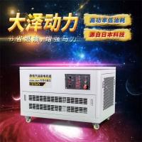 TOTO25,25千瓦静音汽油发电机