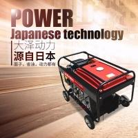 300A风冷汽油发电电焊机价格