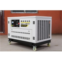 12千瓦汽油发电机组,箱体式