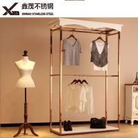 不锈钢服装展示架 多色多工艺可选做