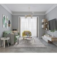 新品-朗伊尔城系列 麻面白+金钟柏 客厅 电视柜