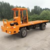四不像平板車8噸工地拉貨運輸車 四驅拉鋼筋水泥平板車