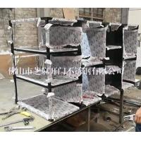 定制不锈钢架子置物架不锈钢酒柜摆放架厂家