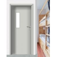 学校隔音教室门定制带五金锁观察窗门体坚固