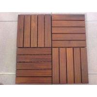 DIY地板,免漆扣板,实木扣板,防腐木,菠萝格