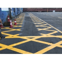 欽州路之邦消防車道劃線安全可靠