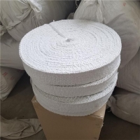 陶瓷纤维带 3mm 5mm耐高温陶瓷纤维带
