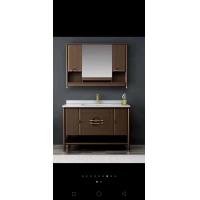 经典美式全橡木浴室柜