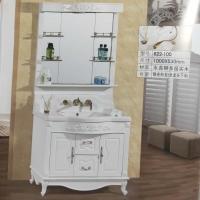 卫生间实木浴室柜组合洗手台盆镜柜大理石组合洗漱盆