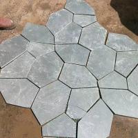 泓峰石材產青灰色文化石 深灰色板巖 灰綠色文化石 青灰色板巖
