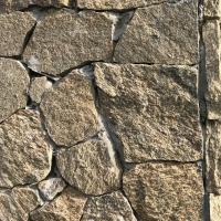 长期供应碎拼石板板岩 黄色红色板岩 乱形石 碎拼石墙面