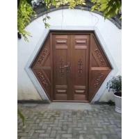 步丹不锈钢铜门庭院大门农村 围墙大门