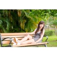 木塑公园椅休闲椅广场椅景观椅靠背长条椅塑木花园椅