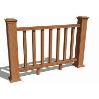 木塑栏杆护栏围栏栅栏公园景区道路河道庭院花园防护栏