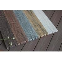 老船木塑木地板深壓紋雕刻紋木塑地板高耐磨防水戶外地板