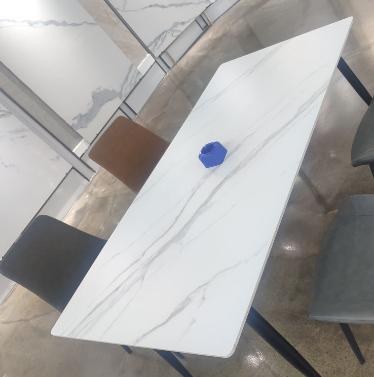 广东佛山岩板办公桌面、佛山岩板餐桌