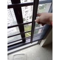 齐贤做带护栏一体窗纱/防盗杆纱窗