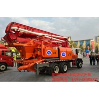 搅拌天泵案例分享30米搅拌天泵一体机