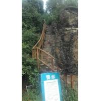 北京景区仿木栏杆施工制作