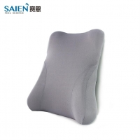 网状可水洗办公室椅子靠背 舒适汽车用记忆棉支撑靠垫