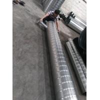 佛山新诚供应镀锌材质螺旋管通风,排气,除尘管道