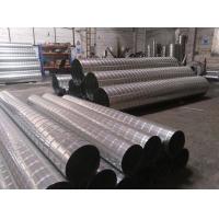 新诚生产工业区风量螺旋风管调节风阀手动阀气动阀