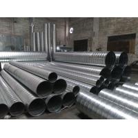 镀锌螺旋风管除尘排气环保工程安装配件