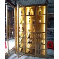酒窖金屬酒架廠家訂做家用不銹鋼紅酒架展示架