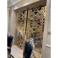 家裝不銹鋼隔斷玄關裝飾金屬屏風定制