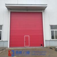 南京消防红色提升门、车库门