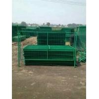 垃圾场防飞网采用框架铁丝网围栏