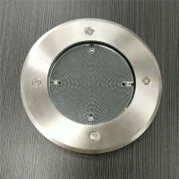 施路达圆形铸铝外壳太阳能地埋灯 坚固耐用