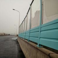 供应马路噪音直立型组合式透明板金属板声屏障2500