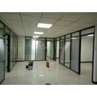 玻璃隔断安装施工铝合金型材批发隔断成品半成品