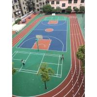 江西幼儿园、学校、小区硅PU、丙烯酸篮球场工程承包