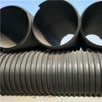 排水排污高密度聚乙烯钢带波纹管