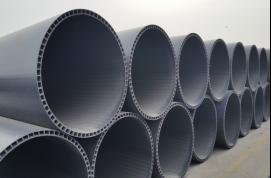 重庆淼漫管业PVC-U双层轴向中空管批发