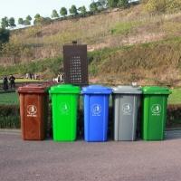 重庆塑料垃圾桶 240L环卫垃圾桶直销