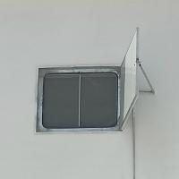 奥文定制 粮仓窗 挡粮窗 保温 密封 防鼠 性能高