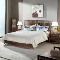 成都 新中式 中式酒店客房床家具 新中式定制家具
