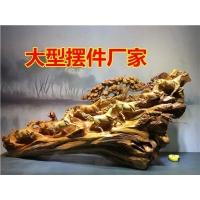 木雕摆件 崖柏根雕整木雕刻 崖柏工艺品生产厂家