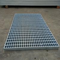 污水处理用钢格栅 污水平台脚踏板