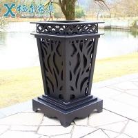 户外铸铝分类垃圾桶庭院垃圾箱小区垃圾箱可定制