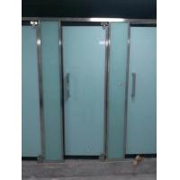 卫生间隔断设计简洁美观 厕所玻璃隔断交工快服务好
