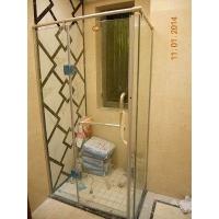 佛山不锈钢淋浴房底座选购 精装修楼盘简易淋浴房承接工程